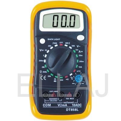 Мультиметр: DT858L