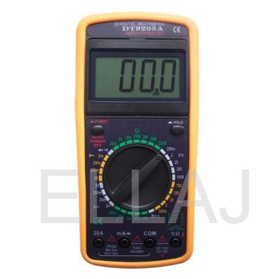 Мультиметр: DT9205A