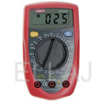 Мультиметр: UT33C