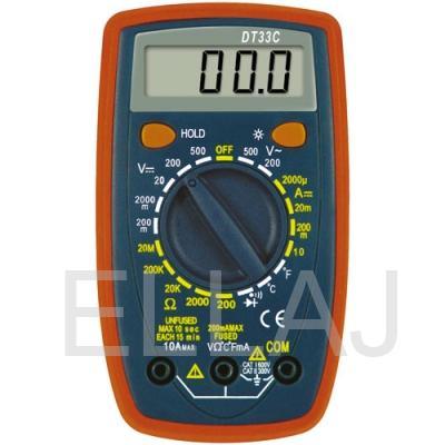 Мультиметр  DT-33C