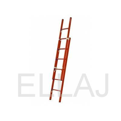 Лестница стеклопластиковая приставная раздвижная диэлектрическая  ЛСПРД-8,0 Евро