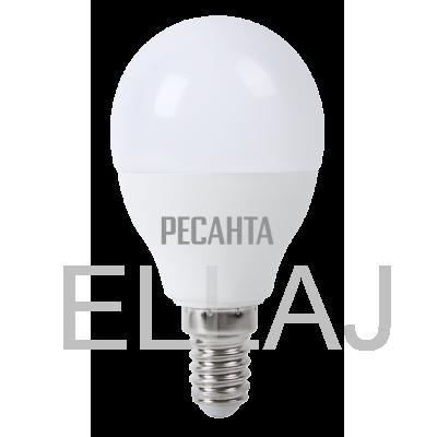 Лампа светодиодная РЕСАНТА  LL-R-G45-7W-230-3K-E14