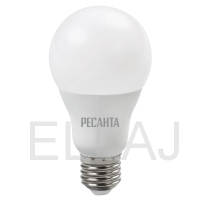 Лампа светодиодная РЕСАНТА  LL-R-A65-15W-230-3K-E27
