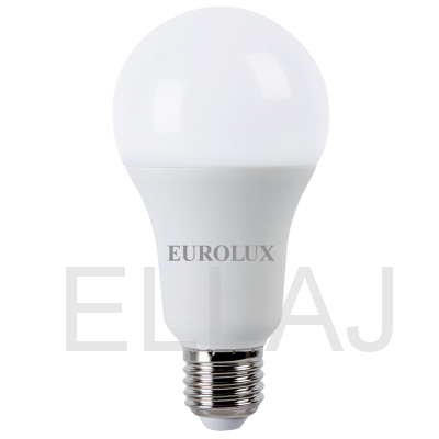 Лампа светодиодная EUROLUX  LL-E-A70-20W-230-4K-E27