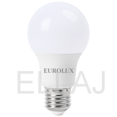 Лампа светодиодная EUROLUX  LL-E-A60-7W-230-4K-E27