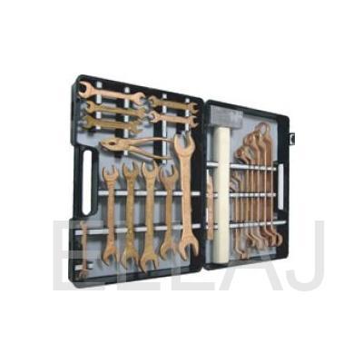 Комплект искробезопасных инструментов КИБО-18 (18 предметов)