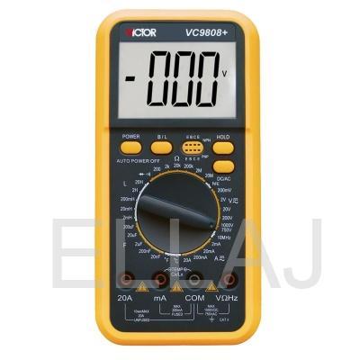 Мультиметр: DT-VC9808+