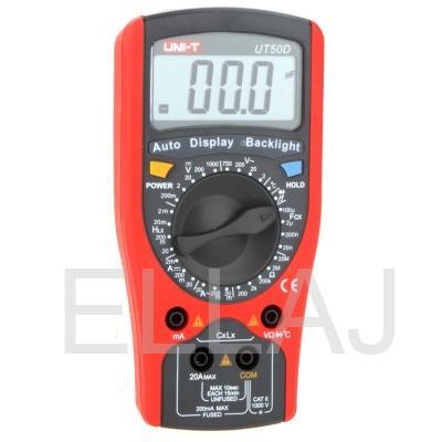 Мультиметр: UT50D