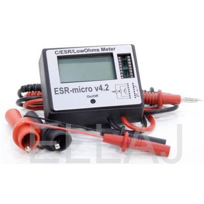Измеритель ёмкости: ESR-micro v4.2
