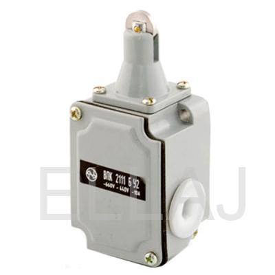 Выключатель путевой  ВПК-2111-БУ2 (толкатель с роликом)