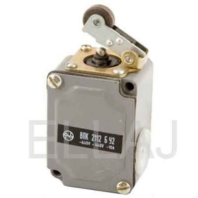 Выключатель путевой: ВПК-2112 БУ2  (рычаг с роликом)