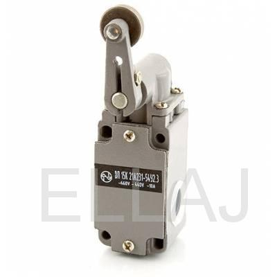 Выключатель путевой  ВП15К21А(Б)231-54У2.3  (рычаг с роликом, полумгновенного действия)