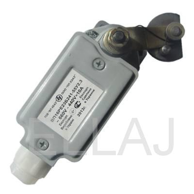 Выключатель путевой  ВП16РГ23Б241-55У2.3 (без сальника, с самовозвратом)