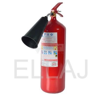 Огнетушитель углекислотный: ОУ-3