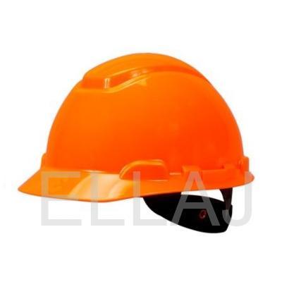 """Каска защитная """"Юнона"""": с храповым механизмом оранжевая"""