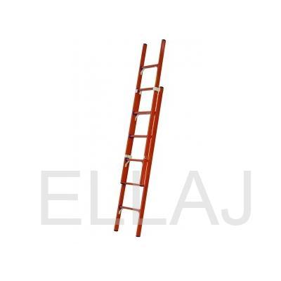 Лестница стеклопластиковая приставная раздвижная диэлектрическая  ЛСПРД-6,0 Евро