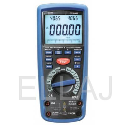 Мегаомметр с True RMS мультиметром  DT-9985