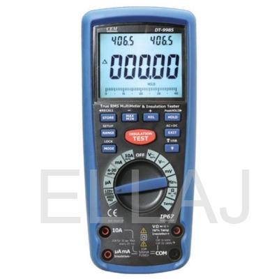 Мегаомметр с True RMS мультиметром: DT-9985