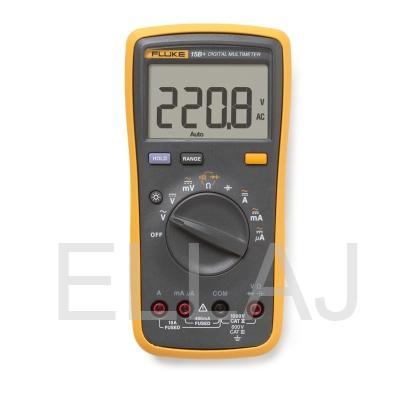 Мультиметр цифровой: FLUKE-15B+ с поверкой