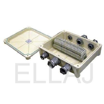 Коробка соединительная  КСП-25 с сальниками IP65