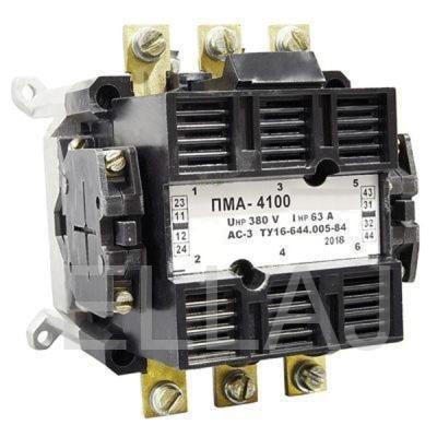 Пускатель электромагнитный: ПМА 4100 380В
