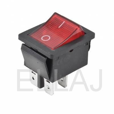 Выключатель  ON-OFF IRS-2-R15 (15A 250VAC) DPST 4P