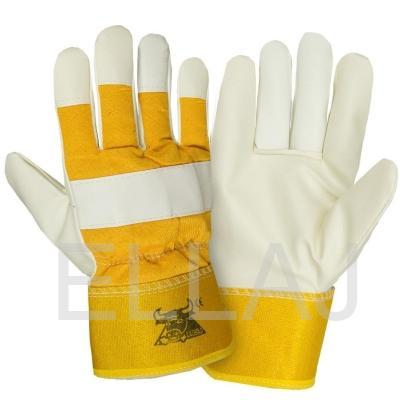 Перчатки кожаные комбинированные  утепленные