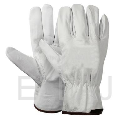 Перчатки кожаные: Люкс белые