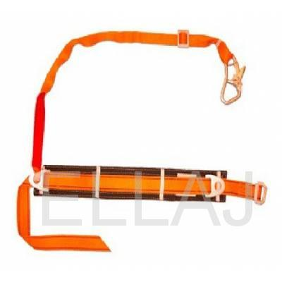 Удерживающая привязь: с амортизатором: УП1АА ( ПП-1аА): (строп пол. лента)