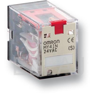 Реле Omron серии MY-S, форма контактов DPDT, светодиодный индикатор MY2N-D2 24 DC(S)