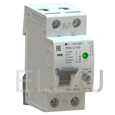 Устройство защиты от искрения EcoEnergy УЗИс-С1 63А