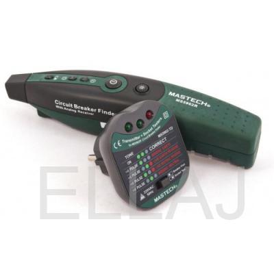Тестер розеток - детектор автоматических выключателей Mastech MS5902RTD