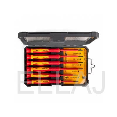 Набор прецизионных диэлектрических отверток НИО-06 мини, 6 шт
