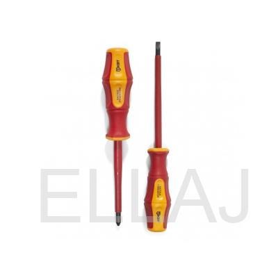 Отвертка диэлектрическая Профи PZ/FL1x80