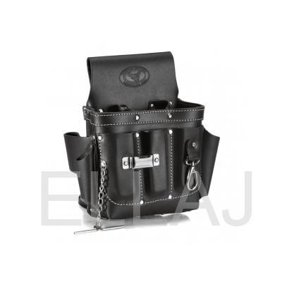 Cумка поясная кожаная КВТ СК-9  премиум-серия «DEAD BULL» 210х270 мм