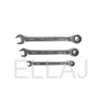 Ключ трещоточный комбинированный PROFESSIONAL 8 мм КВТ
