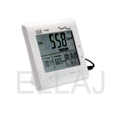 DT-802 Анализатор CO2: часы, температура, влажность