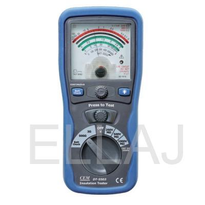 DT-5503 Аналоговый  тестер изоляции