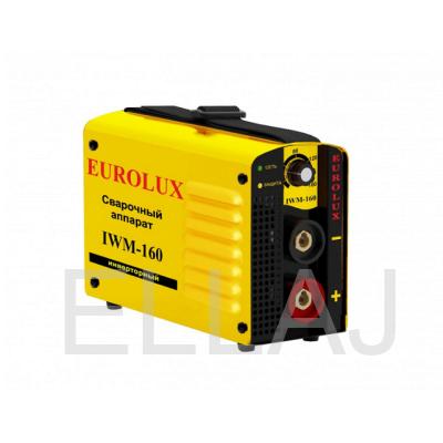 Инверторный сварочный аппарат  EUROLUX IWM160