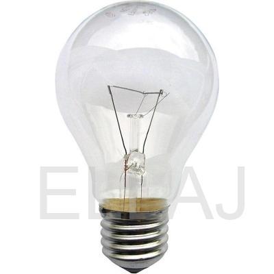 Лампа накаливания грушевидная 95 В E27 теплый белый свет
