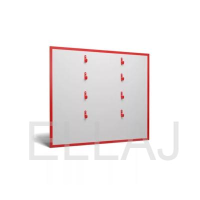 Щит пожарный металлический открытый без комплекта  1250х800х10