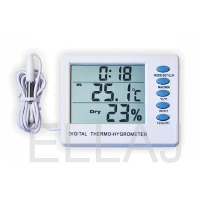 Термогигрометр SH-107 комнатно-уличный с влажностью