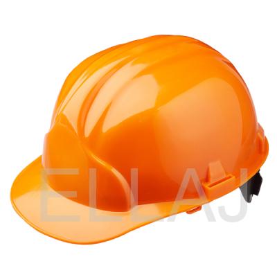 Каска защитная оранжевая