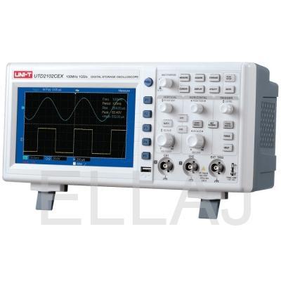 Цифровой осциллограф: UTD 2102CEX