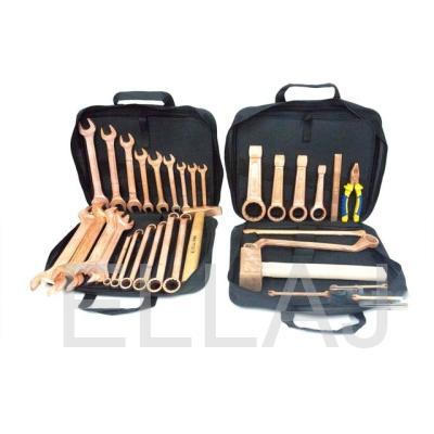 Комплект искробезопасных инструментов КИБО-33 (33 предмета)